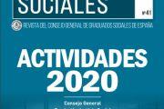 Memoria del Consejo General de Graduados Sociales 2020